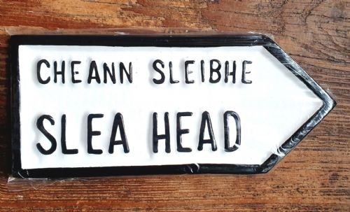 Irish Road Sign - Slea Head